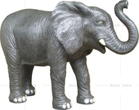 Garden Decoration Products Big Size Elephant with GRC Material H105cm
