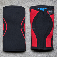 Neoprene Material crossfit knee sleeve 9mm