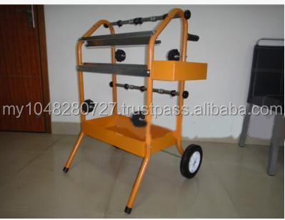 trolley type cutter rack-mount 45CM wide masking paper