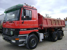 USED TRUCKS - 2640 ACTROS 6X4 TIPPER (LHD 7655)