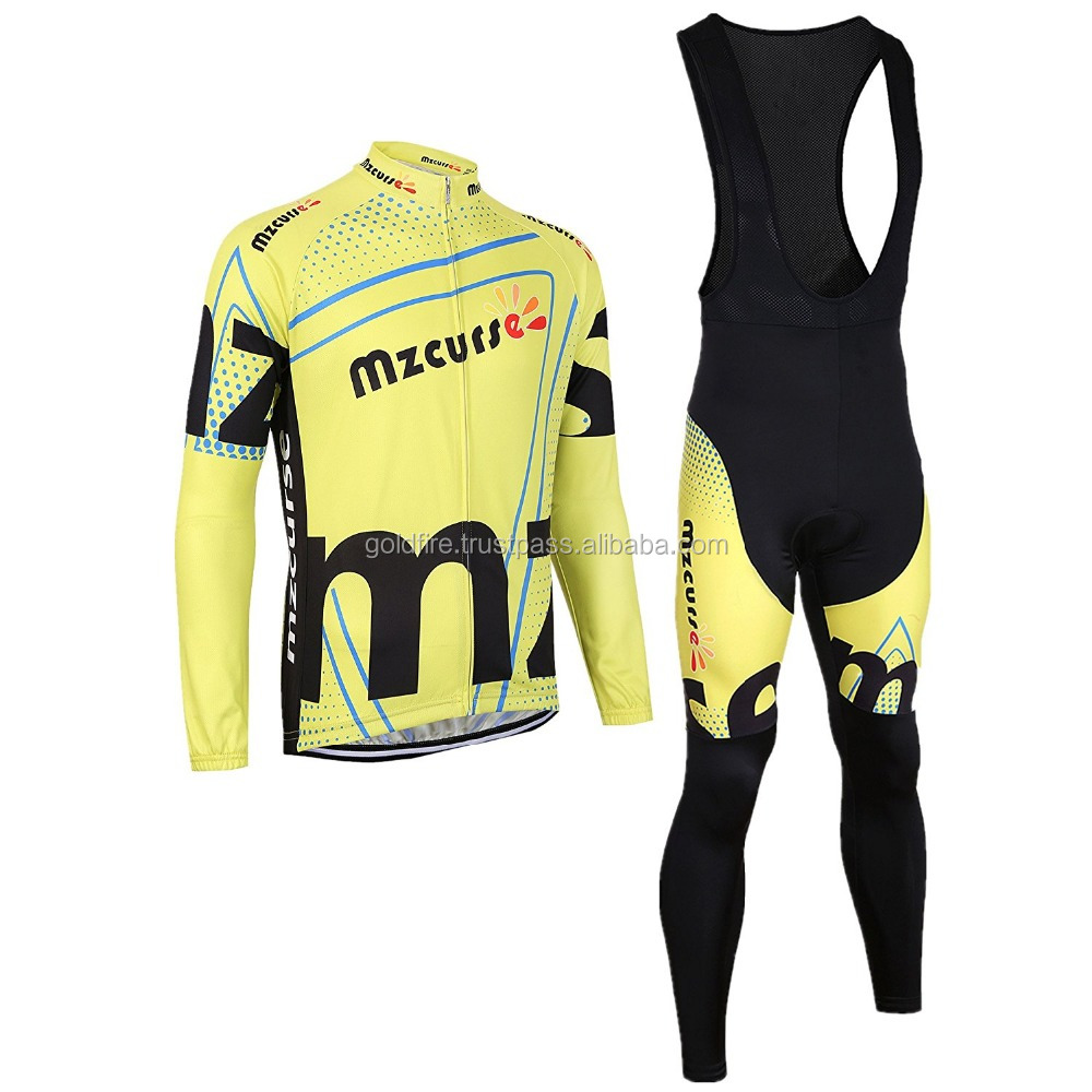 OEM Quick Dry 100% polyester custom cycling Bib cycling wear / clothing manufacturer