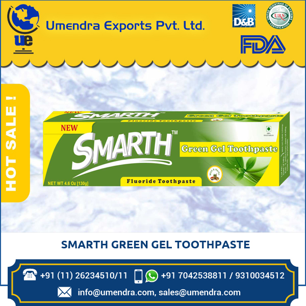 Natural Ingredients Pure Smarth Green Gel Toothpaste at Low Rate