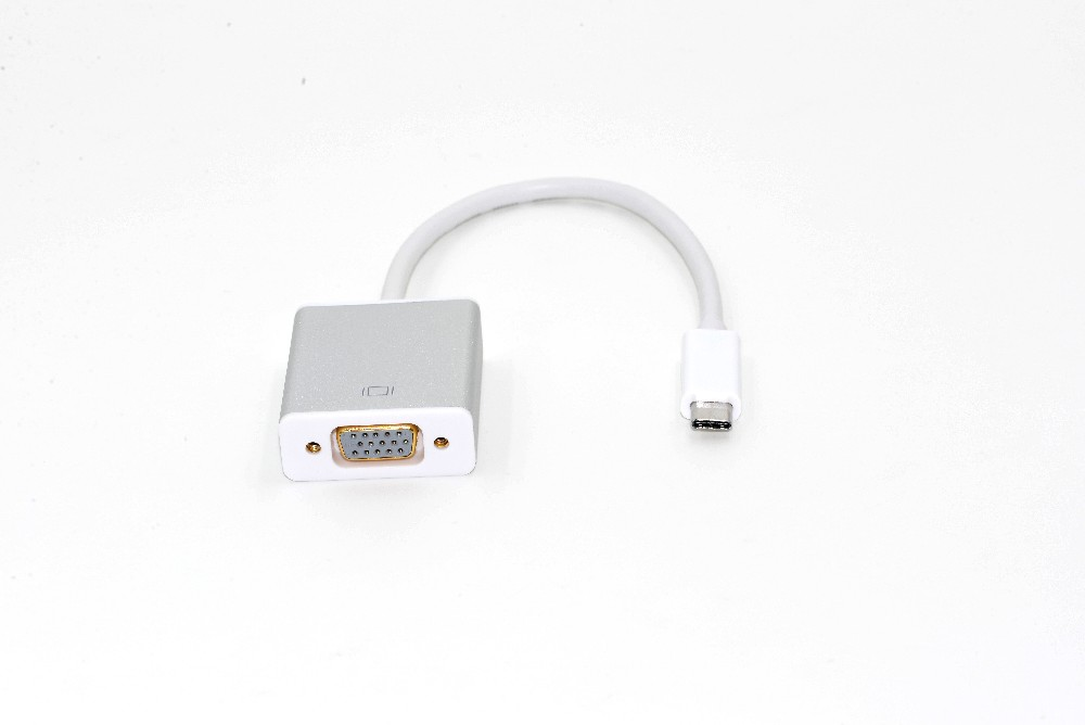 USB C adaprer usb to vga converter with aluminum case