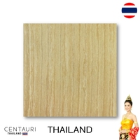 60x60 cm Hazelnut Tan Wood Pattern Polished Granito Floor Tile and Great Quality Interior Floor Tile from Thai Supplier