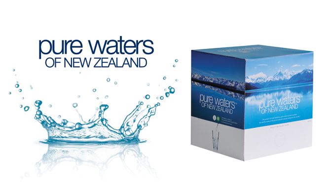 Victoria Pure New Zealand Water in Bulk, Boxed Water