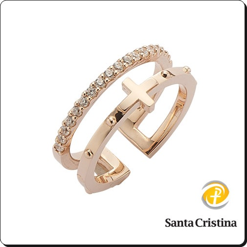Catholic real gold rosary ring ,wedding ring