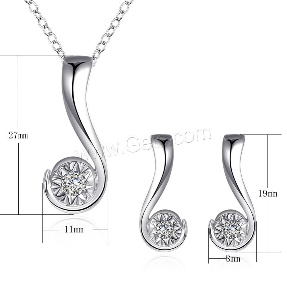 2017 New italian sliver plated jewelry sets 1143671
