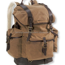 Unisex Canvas Backpack Travel Shoulder School Laptop Bags