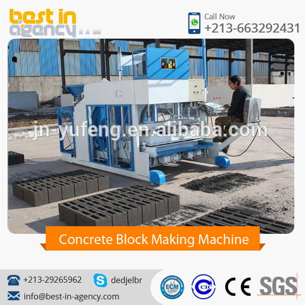 Latest Design Automatic Concrete Block Making Machine Available at Low Price