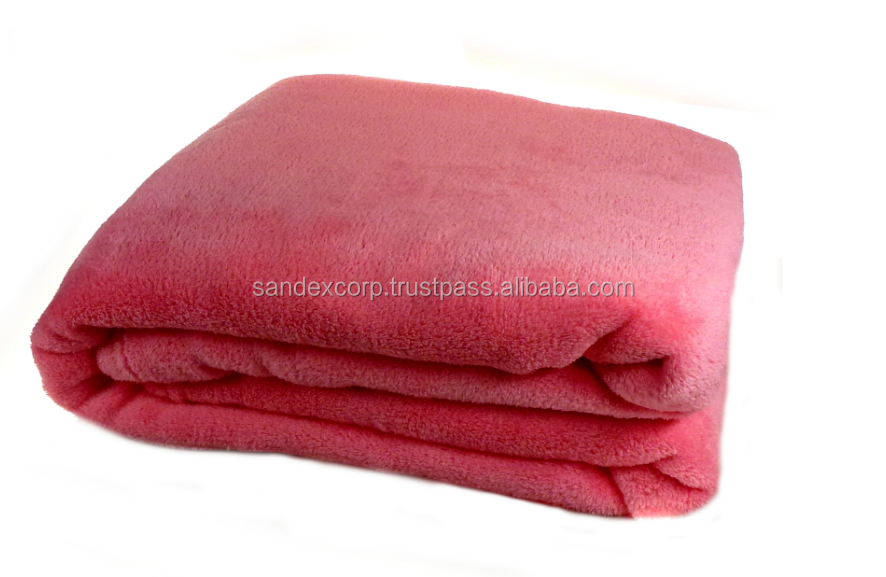 Satin Trim Polyester Blanket