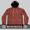 Sublimated Lightweight Windbreaker Coach Jacket Hooded Nylon Coach Jacket