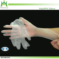 Cheap price food handling disposable vinyl gloves powder free for restaurants