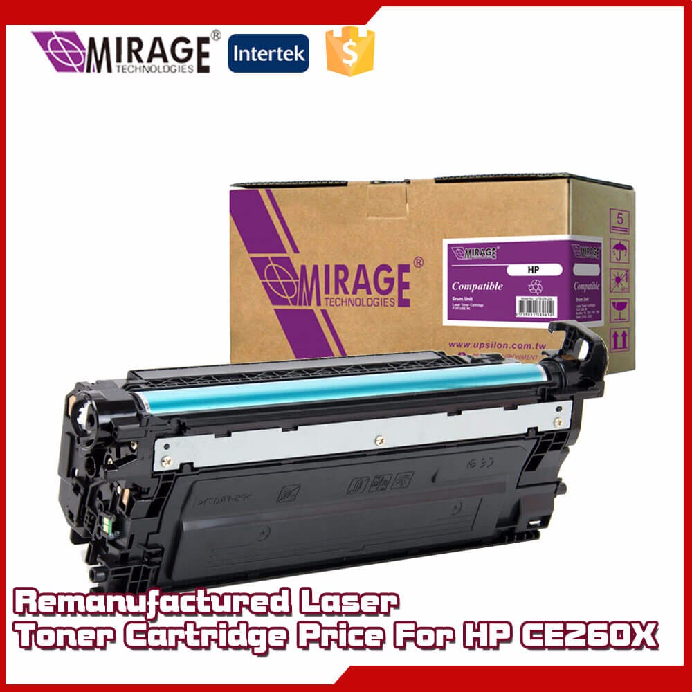 Remanufactured Laser Toner CE260X Cartridge Price For HP