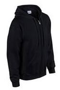 Adult Gildan Zipper hooded sweatshirt