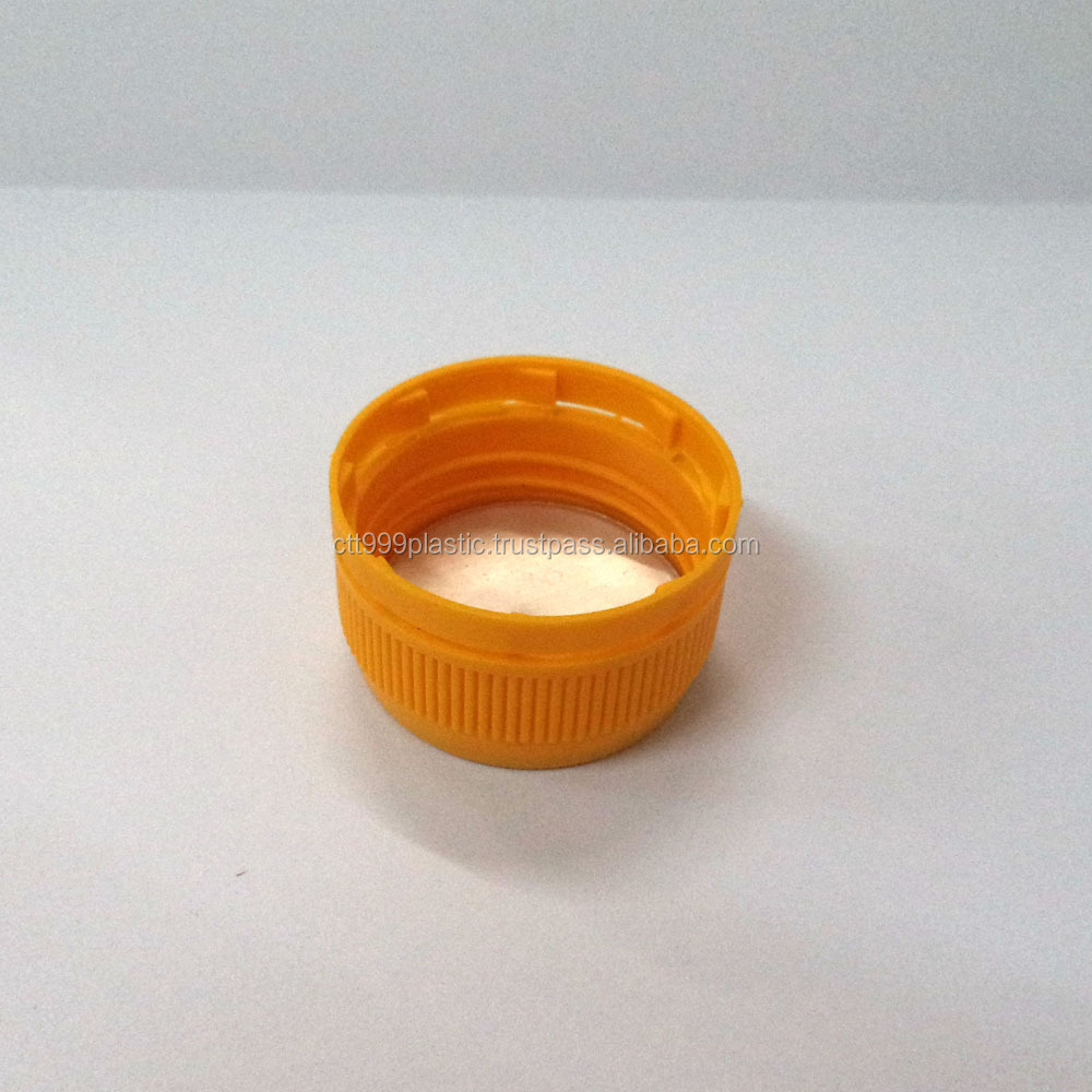 screw plastic bottle cap with guarantee and seal different colors and design OEM for different usage bottle jar containers