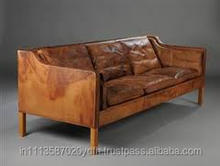 Danish design three seat sofa