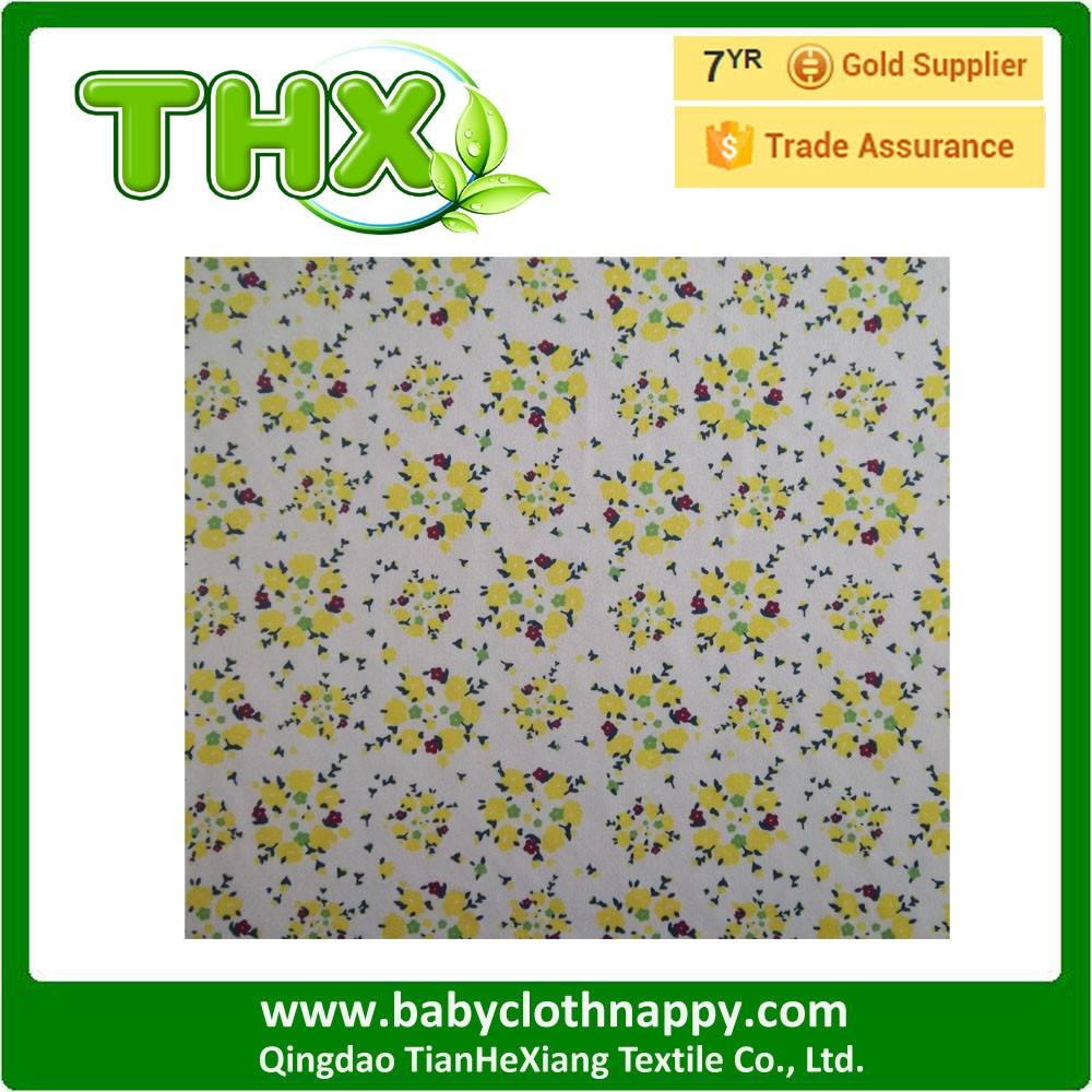 TPU Laminated waterproof and breathable PUL fabric