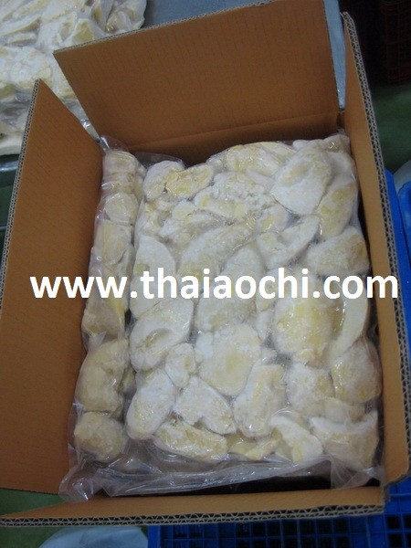 High Quality IQF Frozen Durian Monthong seedless from Thailand [ Certified HACCP , ISO 22000 , GMP , HALAL & KOSHER ]