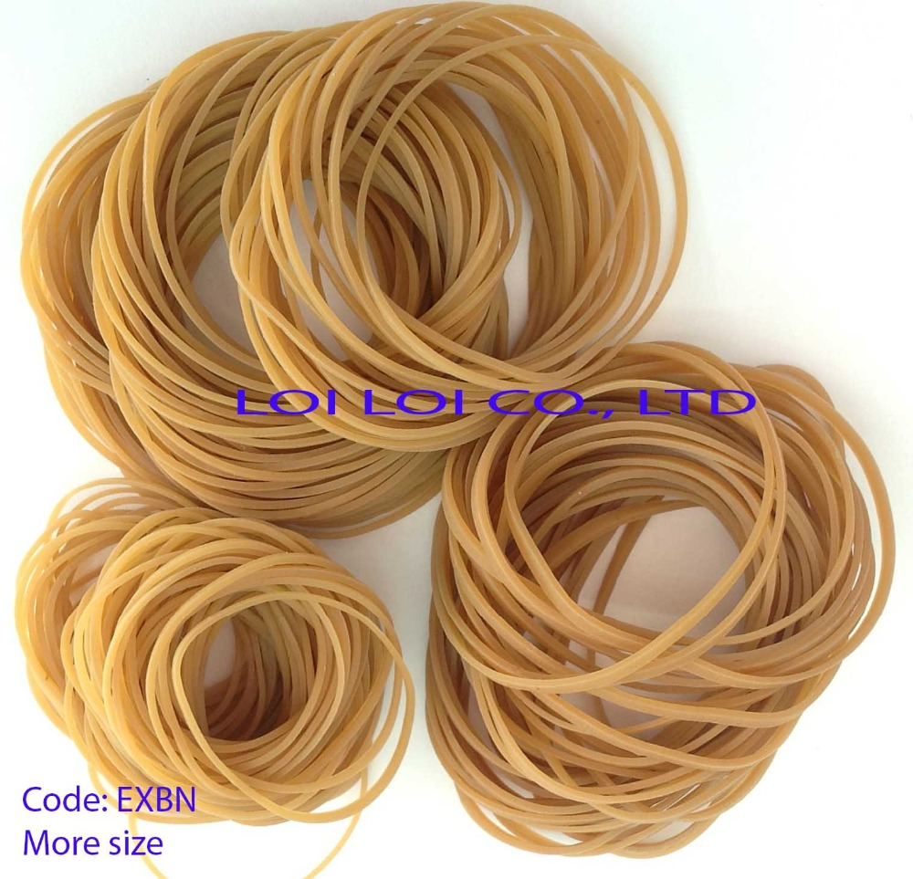 Rubber band color natural / Best hottest seller to China - Thailand