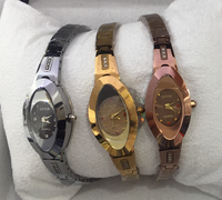 Hot selling good quality stainless steel women watch. Fashion quartz women watch cheap price wholesale.