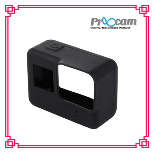 Proocam PRO-F211 Protective Silicone Case for the Camera Mainbody of Gopro Hero 5 (Black)(Black)