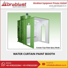 Environment Friendly Paint Booth with Water Curtain for Industrial Spray Painting