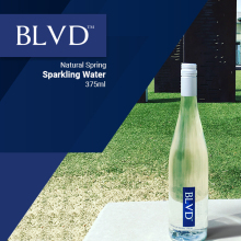 375ml Pure Natural Spring Sparkling Bottled Water