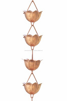 Copper Rain Chain Rain Chain Manufacturer from India