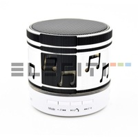 Mini speaker Bluetooth portable USB Radio FM MicroSD LED light Eleciti 10755