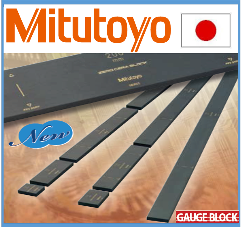 Easy to use and Highly-efficient caliper digital Mitutoyo gauge block with secular stability