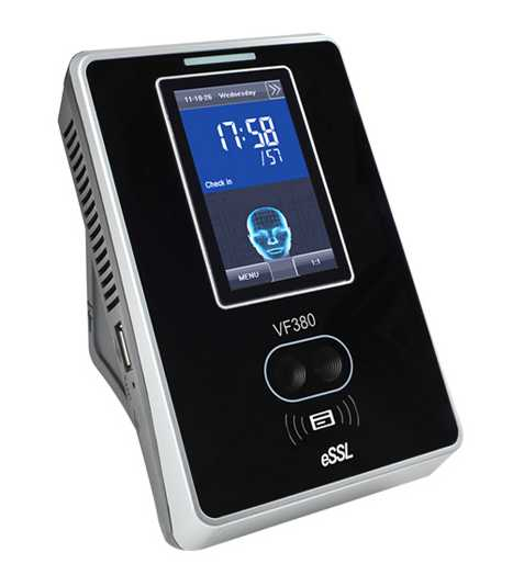 VF-380 Face Recognition system Biometric Time Attendance System