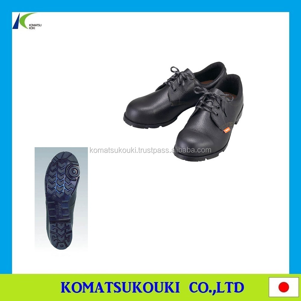Professional and tough TRUSCO safety low shoes, wide steel toe cap with smooth foot comfort Made in Japan