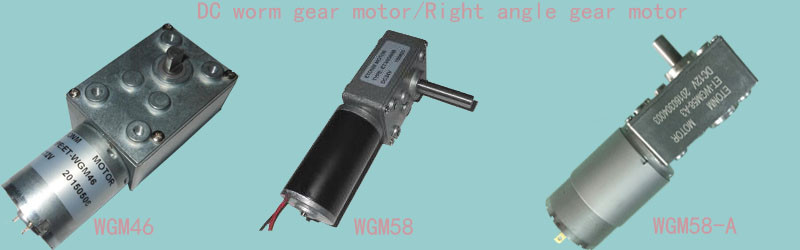 Worm Gearing Arrangement electric motor with gearbox 12v dc worm gear motor