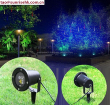 Fashion outdoor laser stage lighting laser light christmas decoration star shower laser light Factory Direct Supply
