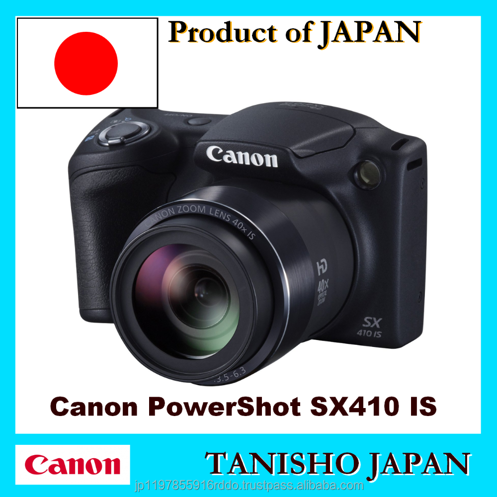 Authentic Canon Powers hot SX410 IS 20.0 MP Digital professional Camera and Lens Kit made in Japan