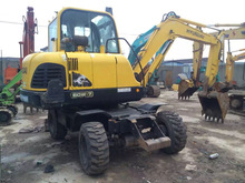 Used /second-hand Excavator R60W-7 in Hyundai for sale