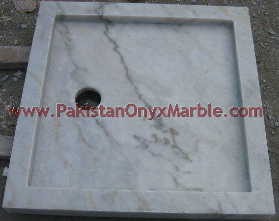 NATURAL STONE MARBLE SHOWER TRAYS