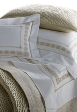 hand embroidery bedding set ,hemstitch bed sheet cotton bed sheet ,bed linen