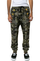 high quality custom printed joggers/fashion printed joggers,3d printing custom made joggers
