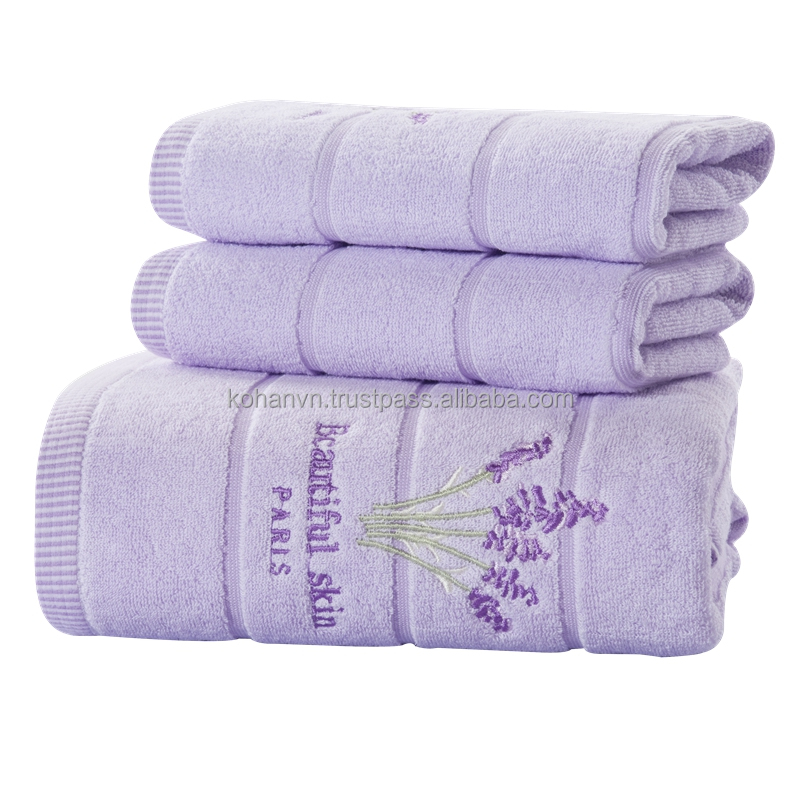Kohan home textile bath towel 100% cotton 70*140