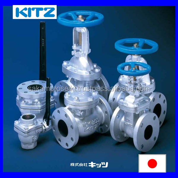 High quality cast iron butterfly valve Japan KITZ CORPORATION