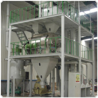Fully Automatic cattle mesh feed plant capacity 1TPH