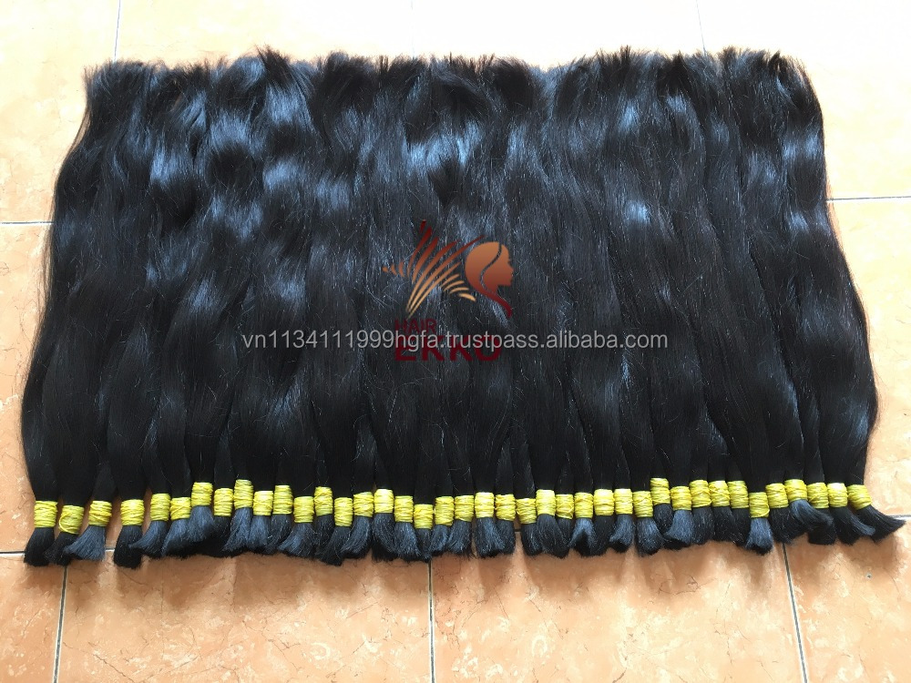 100% Unprocessed Human Hair Bulk Virgin Brazilian Bulk for Braiding Hair Extensions In stock No Tangle Fast Shipping