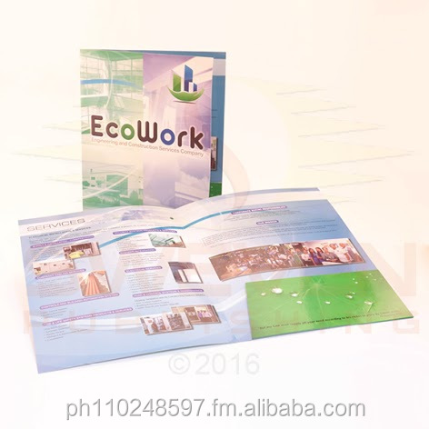 Quality Company Folders or Business Folders for Rush Printing