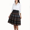 All Season Pleated Skirt Flared Skirt