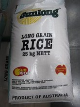 Sunrice Long Grain Rice 25kg