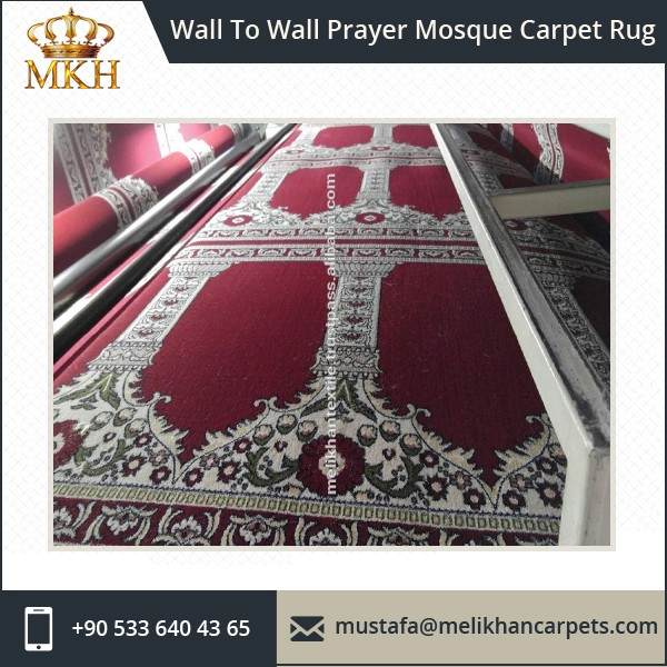New Design Wholesale Wall To Wall Mosque Carpet Prayer Rug