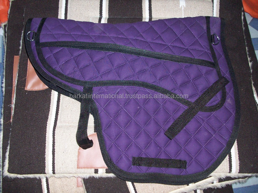 treeless saddle pads available in all colors