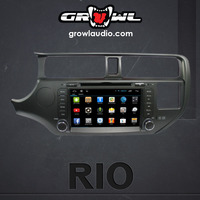 "OEM ANDROID HEAD UNIT 8"" CAPACITIVE TOUCH SCREEN FIT FOR KIA RIO 2008 - 2012"