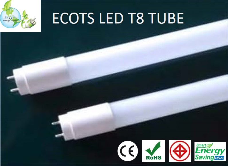 LED T8 Tube Light 18W 1200mm 1900lm Nichias Japanese Grade for European and Global market stock in Thailand CE mark ROHS mark